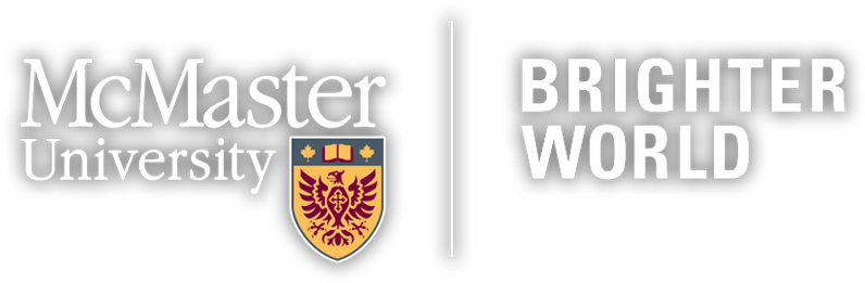 McMaster brighter world logo