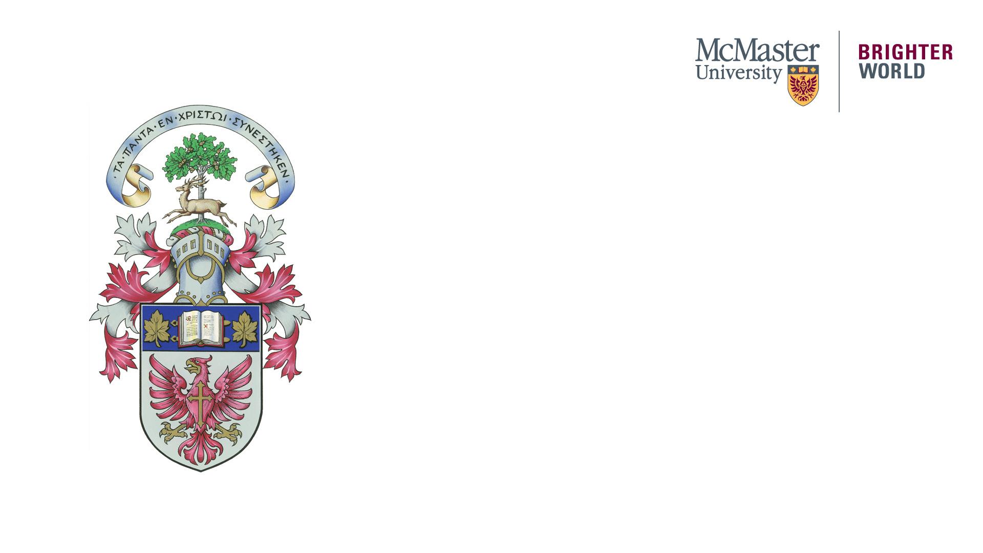 McMaster Crest