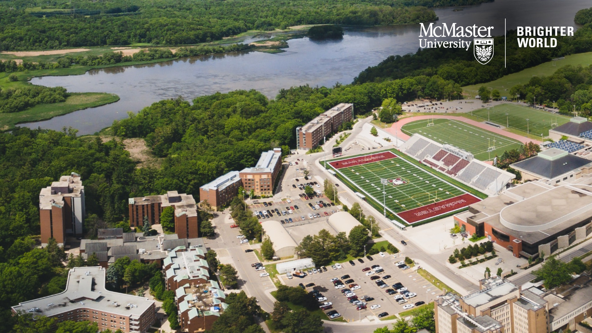 McMaster Campus and Cootes Paradise